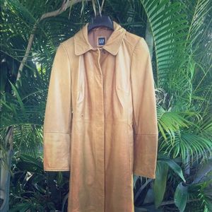 Vintage GAP Leather Coat